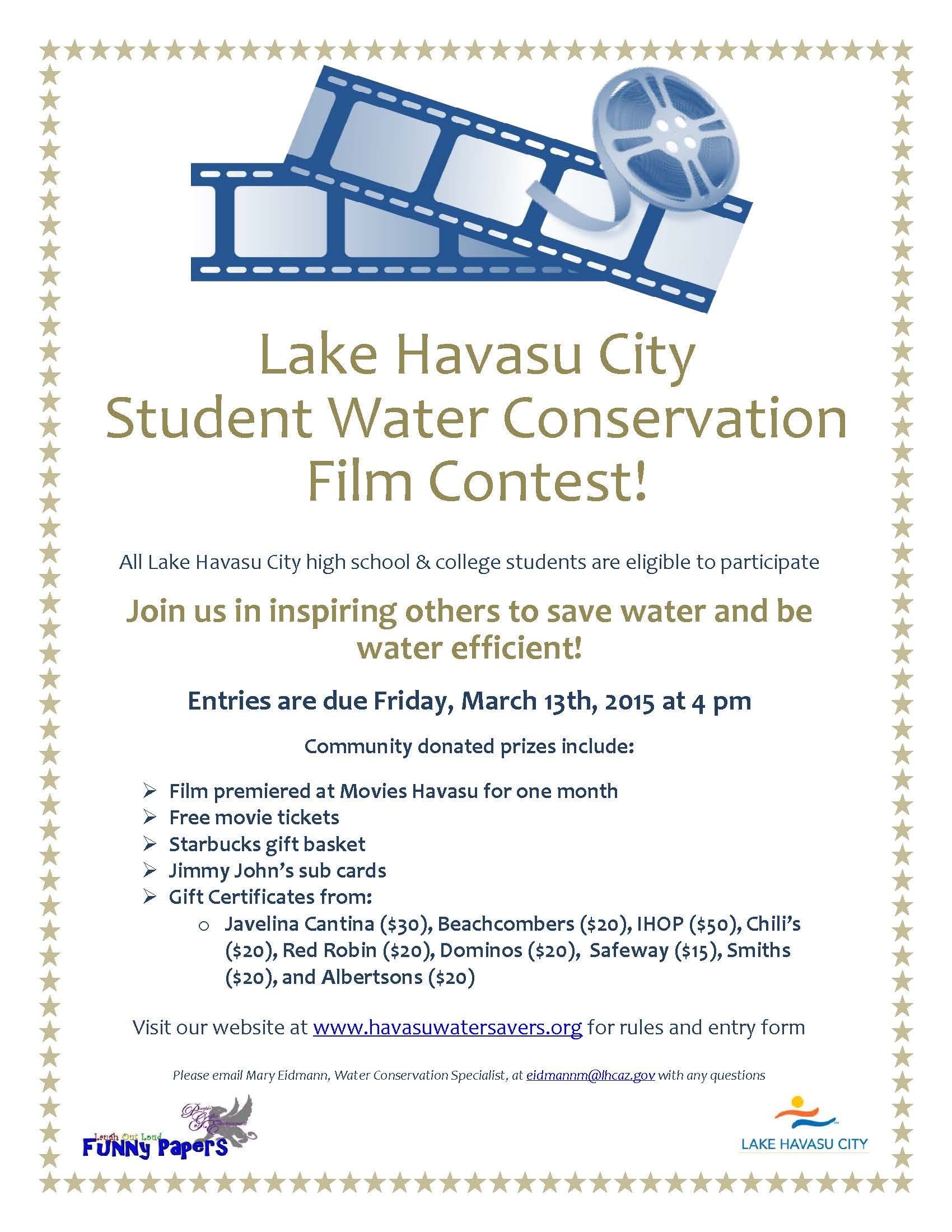 Student Water Conservation Film Contest! – Telesis ...