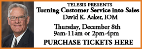 David Aaker - Turning Customer Service into Sales